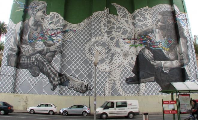 IMVG-streetart-Bilbao-Guggenheim-peace-4