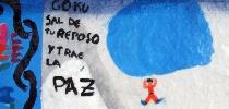 IMVG-streetart-Bilbao-Guggenheim-peace-goku