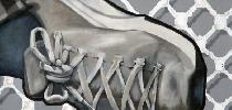 IMVG-streetart-Bilbao-Guggenheim-peace-shoe