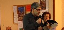 Juan Ibarrondo recitando