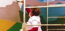 Virtudes pintando.