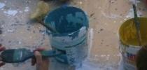 Pintando cascajos
