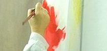 ¡Pintemos de rojo!