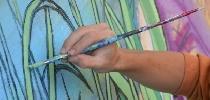 Brigada pintando