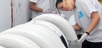 pintando ruedas