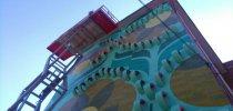 Visitamos el nuevo mural de Zaramaga