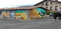 Nuevo mural en un pueblo de Álava