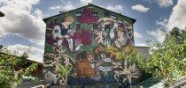 El Casco Viejo acogerá este verano nuevas visitas guiadas al recorrido de los murales
