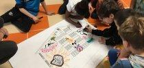 El Casco Viejo tendrá un nuevo mural gigante en el colegio Ramón Bajo