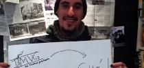 Ivan, flamante muralista del IMVG, viaja a Argentina